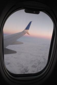 Flying into Denver