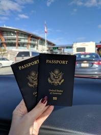 Heading into Canada